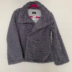 Patagonia Gray Minky Jacket